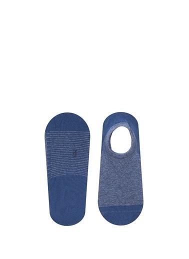 Mavi  Patik Çorap Mavi